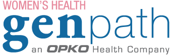 GenPath logo in conjunction with women's health